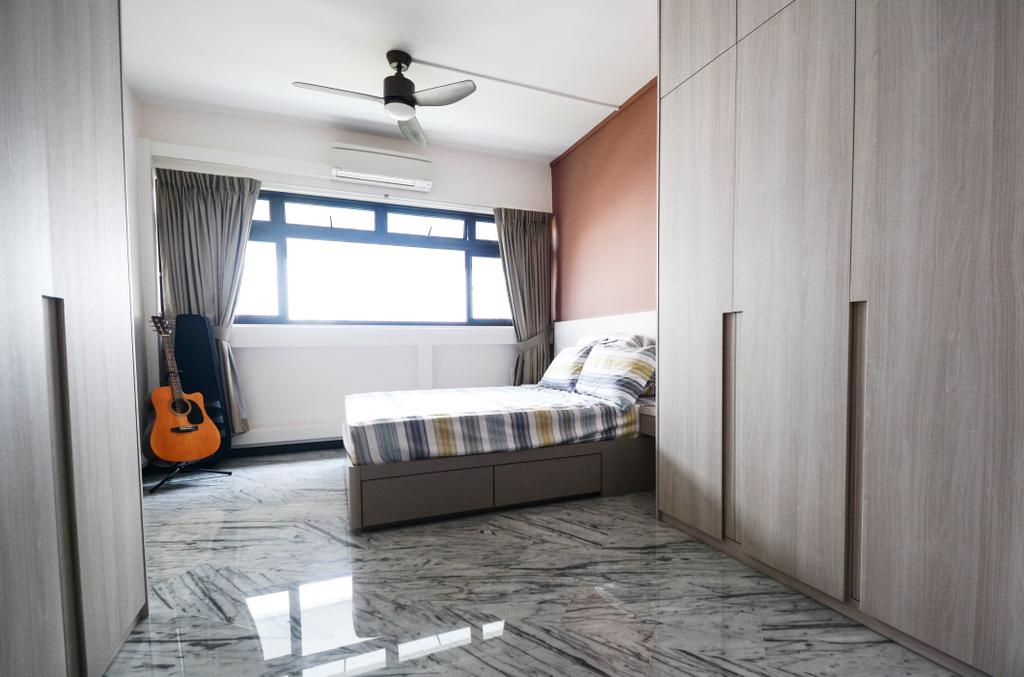 Contemporary, HDB, Bedroom, Bukit Batok Street 21, Interior Designer, The Roomakers