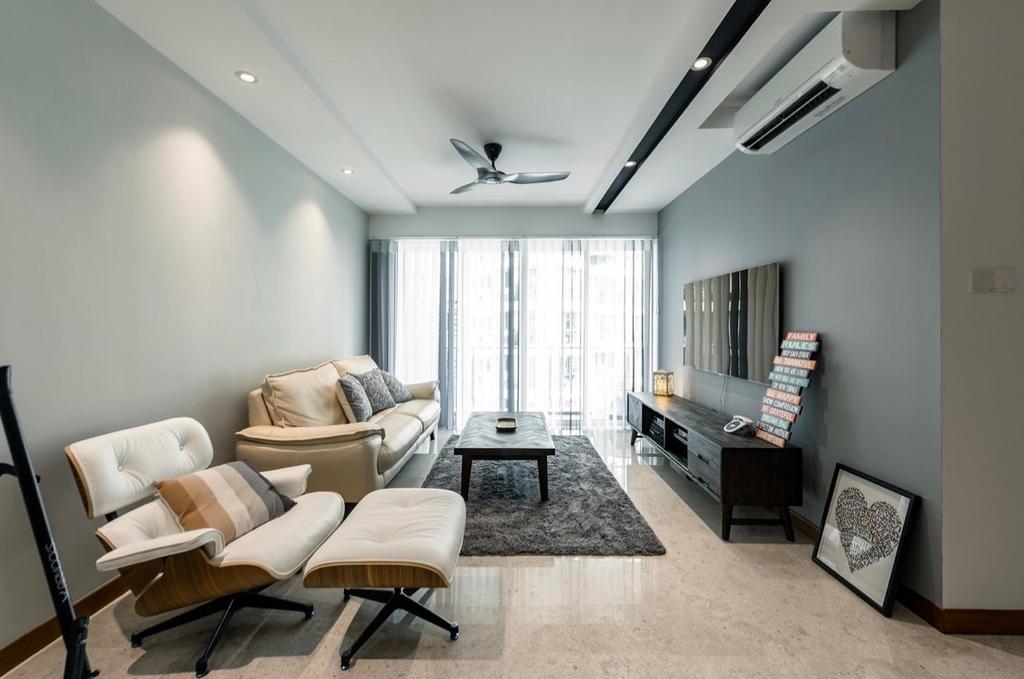 Contemporary, Condo, Living Room, Cote D Azur, Interior Designer, The Orange Cube