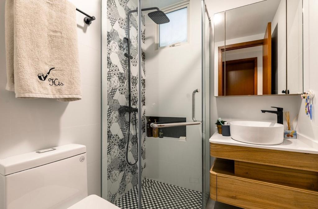 Contemporary, Condo, Bathroom, Cote D Azur, Interior Designer, The Orange Cube