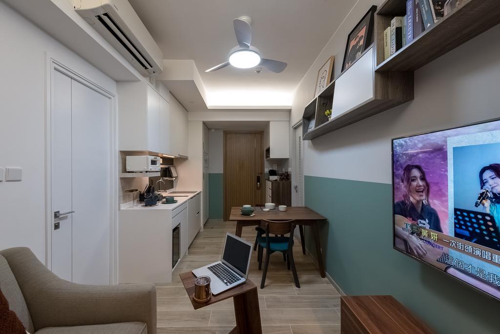 隨性, 私家樓, 客廳, 啟德嘉匯, 室內設計師, Deco Farmer Studio