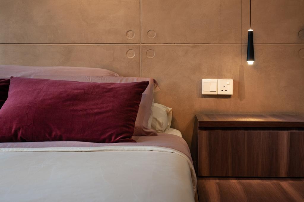 Contemporary, HDB, Bedroom, Punggol Place, Interior Designer, Piuttosto Design