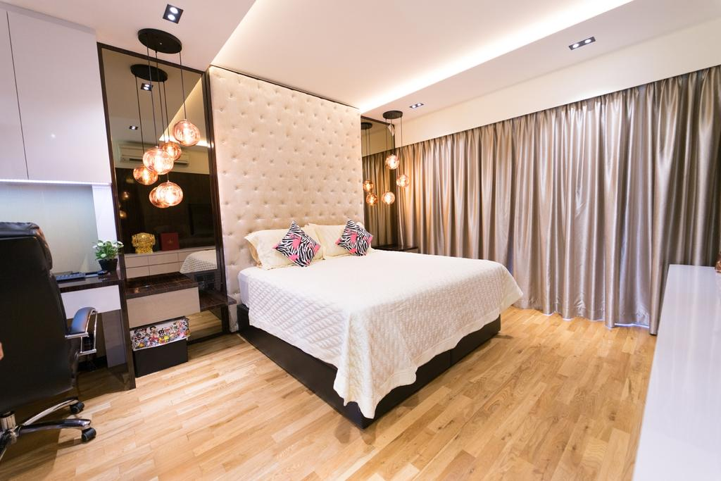 Contemporary, Landed, Bedroom, Serangoon Gardens Estate, Interior Designer, Piuttosto Design