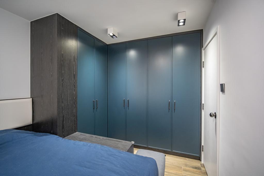 當代, 私家樓, 睡房, 美孚新村, 室內設計師, Shine Interior Design