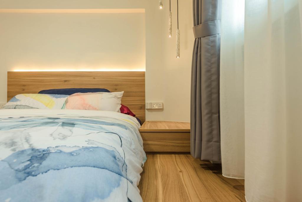 Contemporary, HDB, Bedroom, Joo Seng Road, Interior Designer, Tan Studio