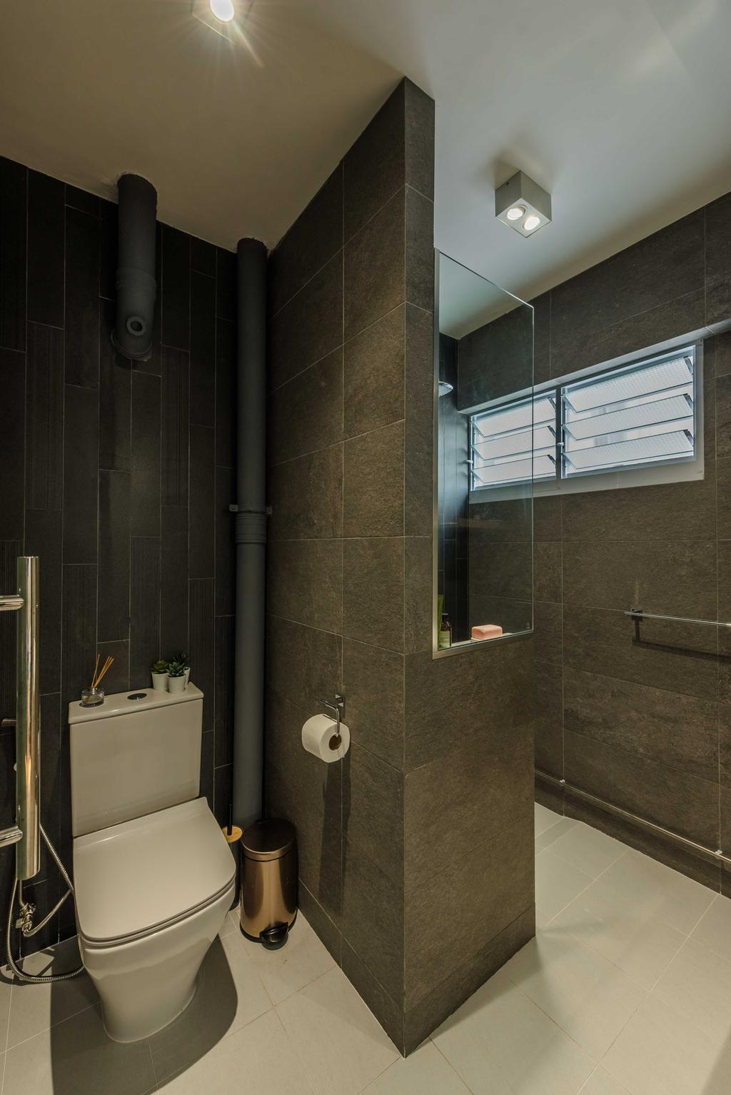 Contemporary, HDB, Bathroom, Joo Seng Road, Interior Designer, Tan Studio