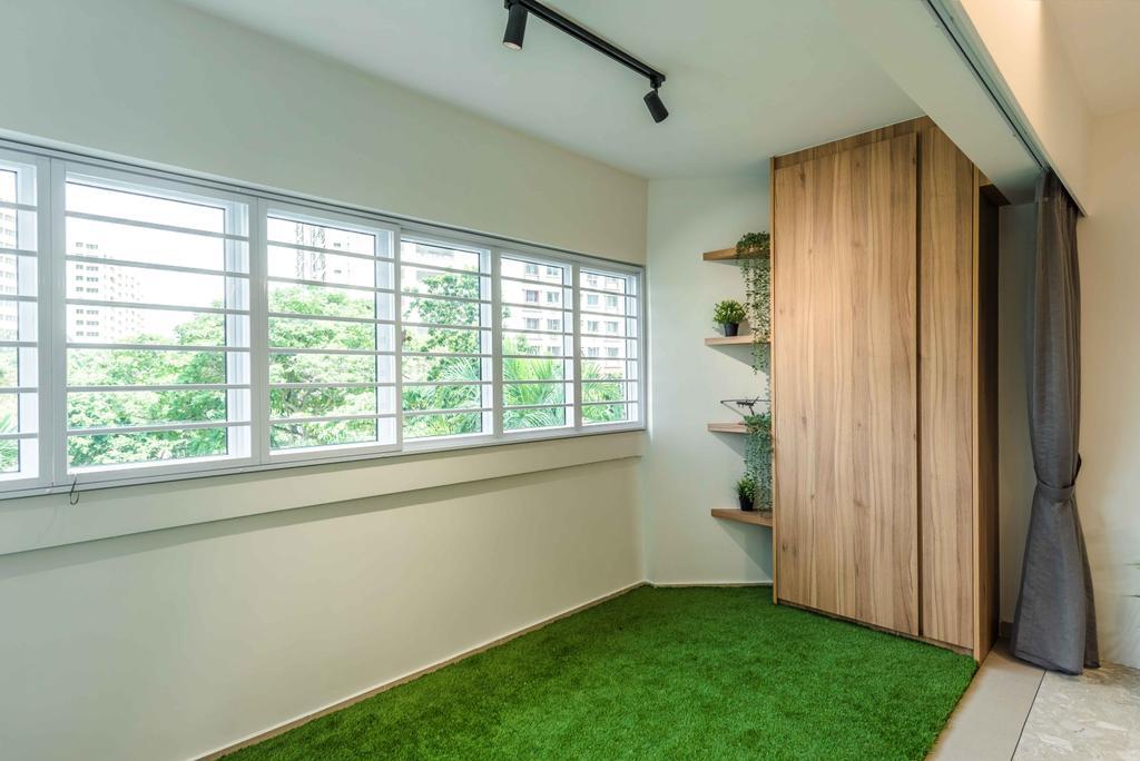 Contemporary, HDB, Balcony, Joo Seng Road, Interior Designer, Tan Studio
