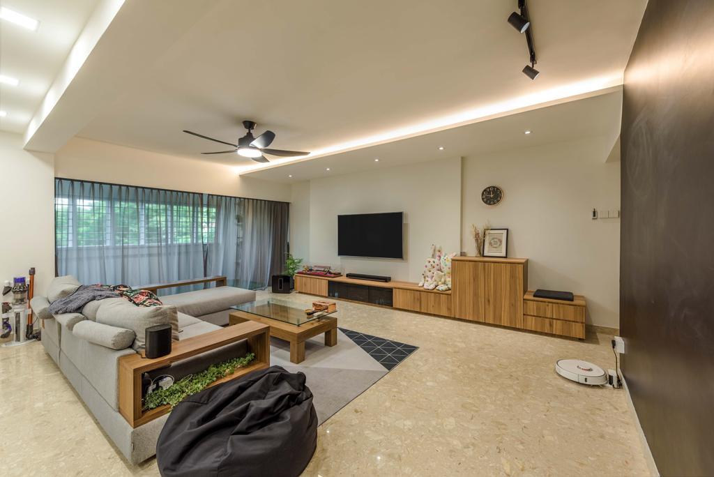 Contemporary, HDB, Joo Seng Road, Interior Designer, Tan Studio