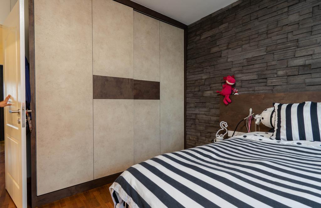 Contemporary, HDB, Bedroom, Hougang Street 52, Interior Designer, Yang's Inspiration Design