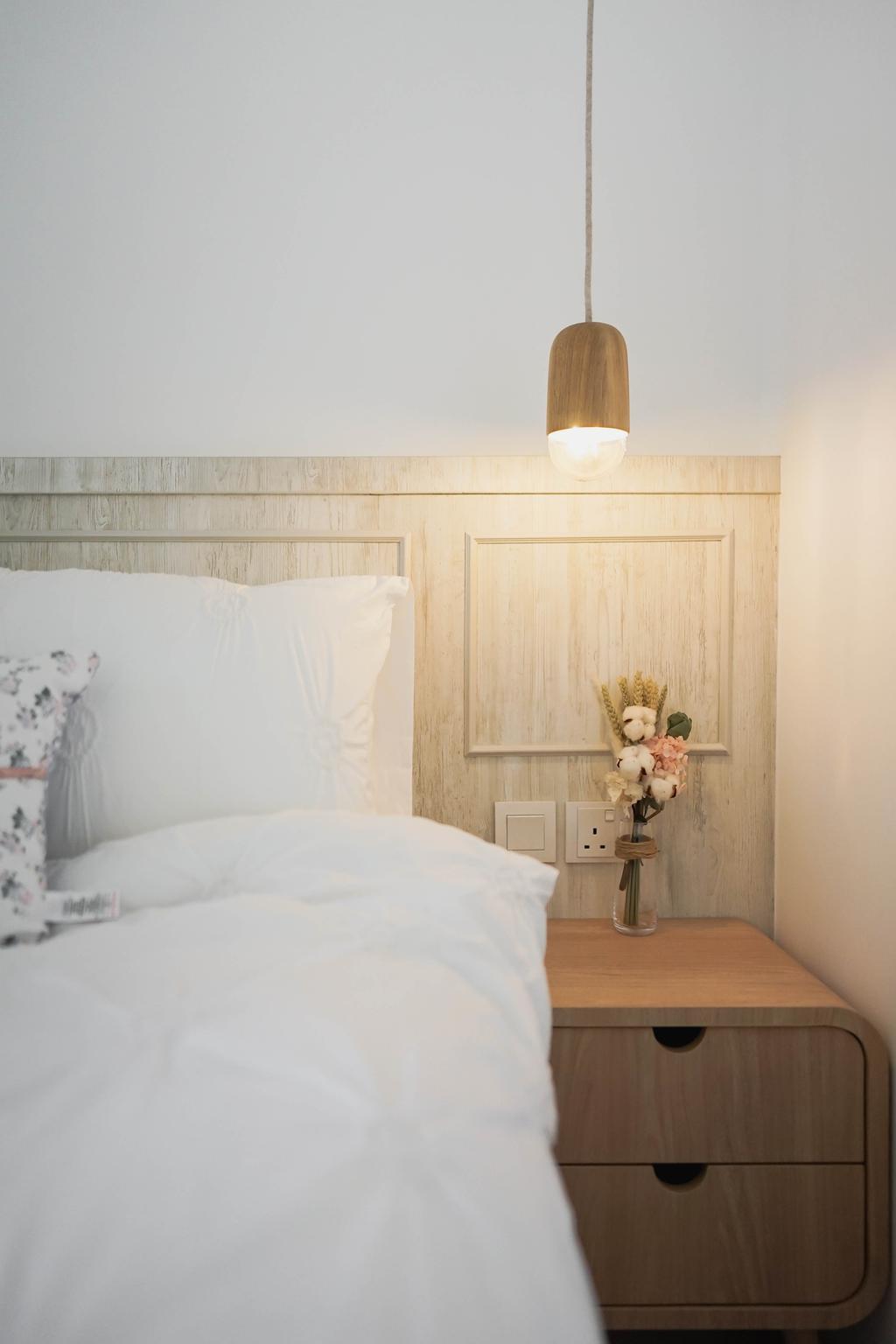 Scandinavian, Condo, Bedroom, Trilive, Interior Designer, Authors • Interior & Styling