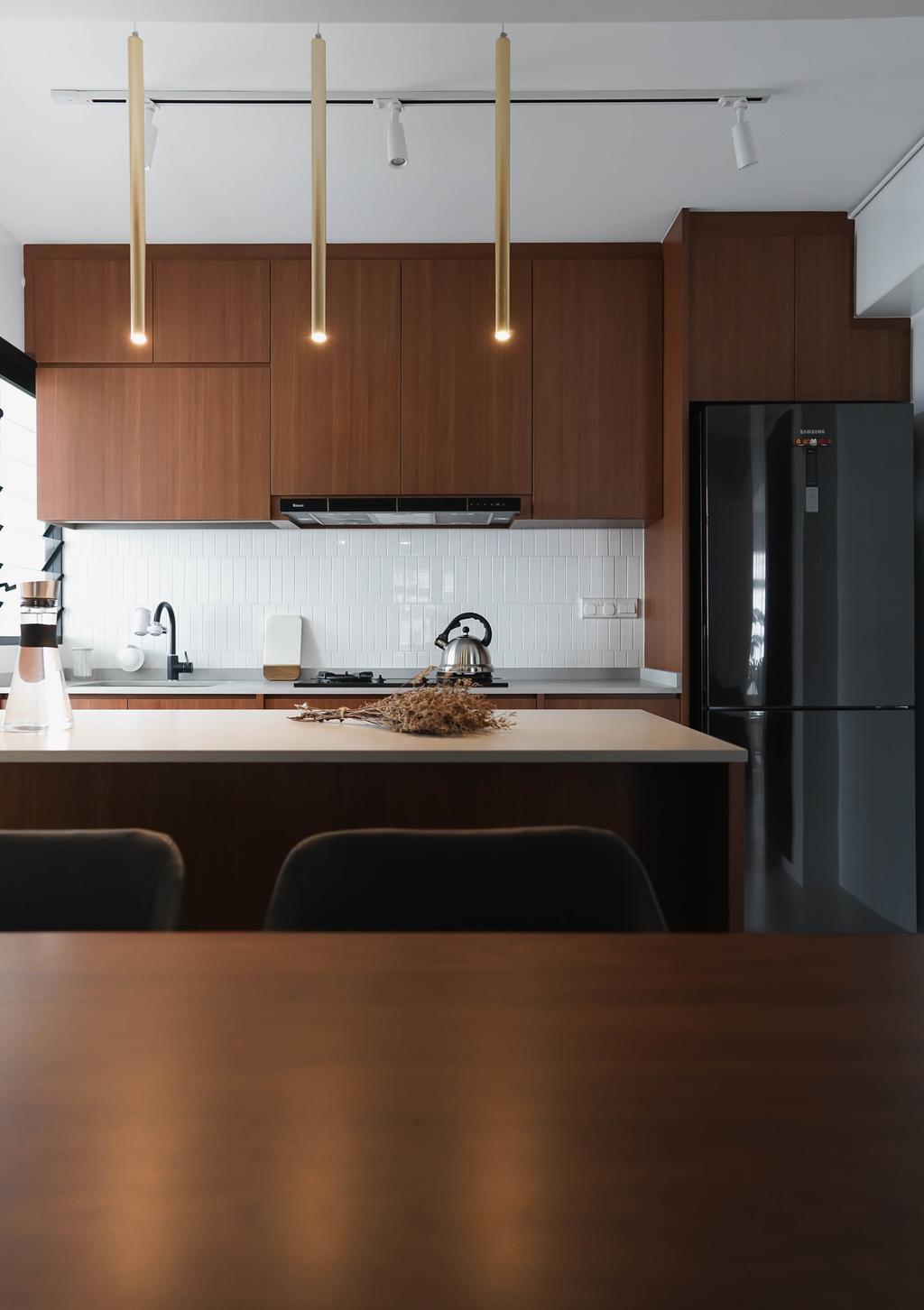 Contemporary, HDB, Kitchen, Tampines Street 61, Interior Designer, Authors • Interior & Styling