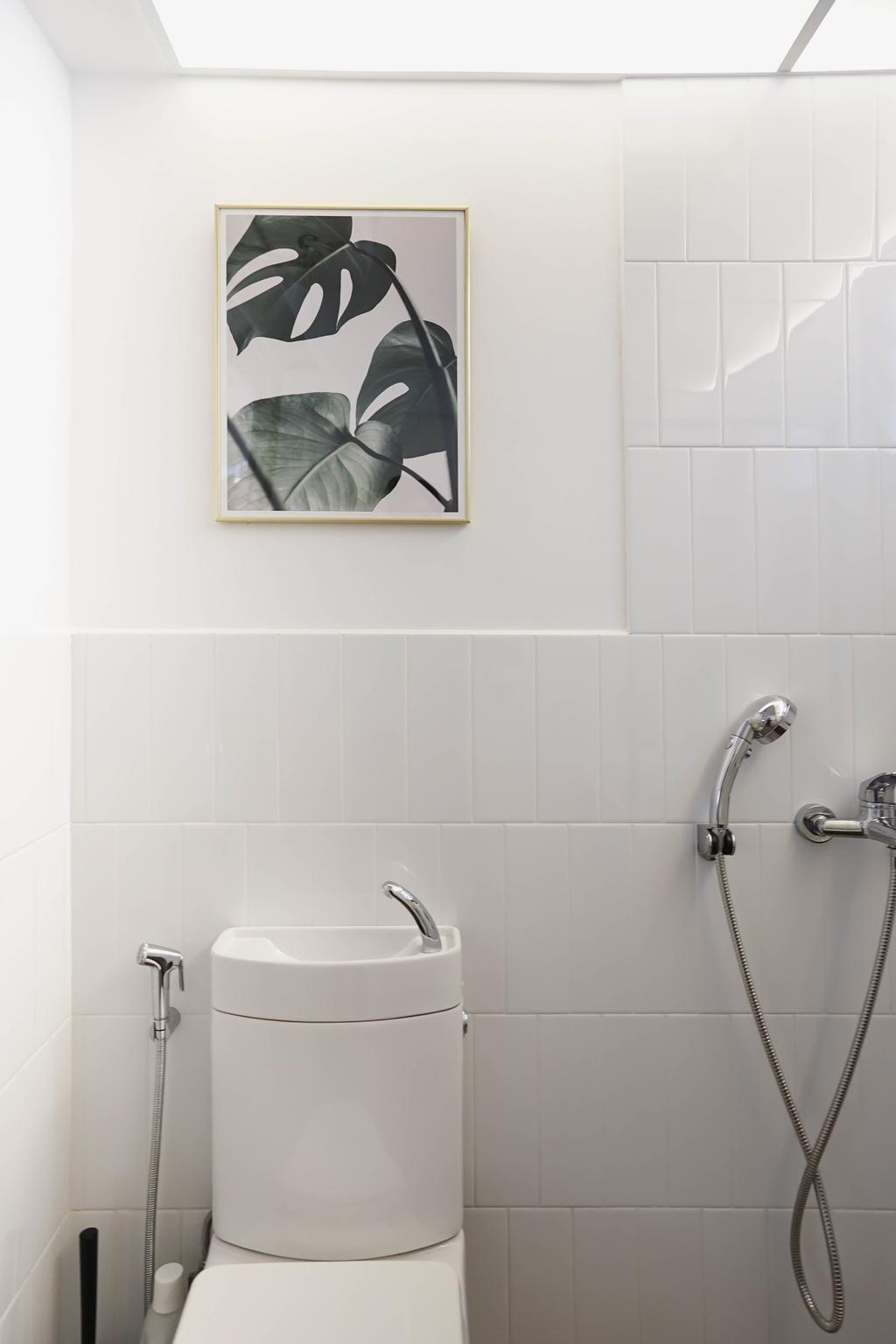 Contemporary, HDB, Bathroom, Tampines Street 61, Interior Designer, Authors • Interior & Styling