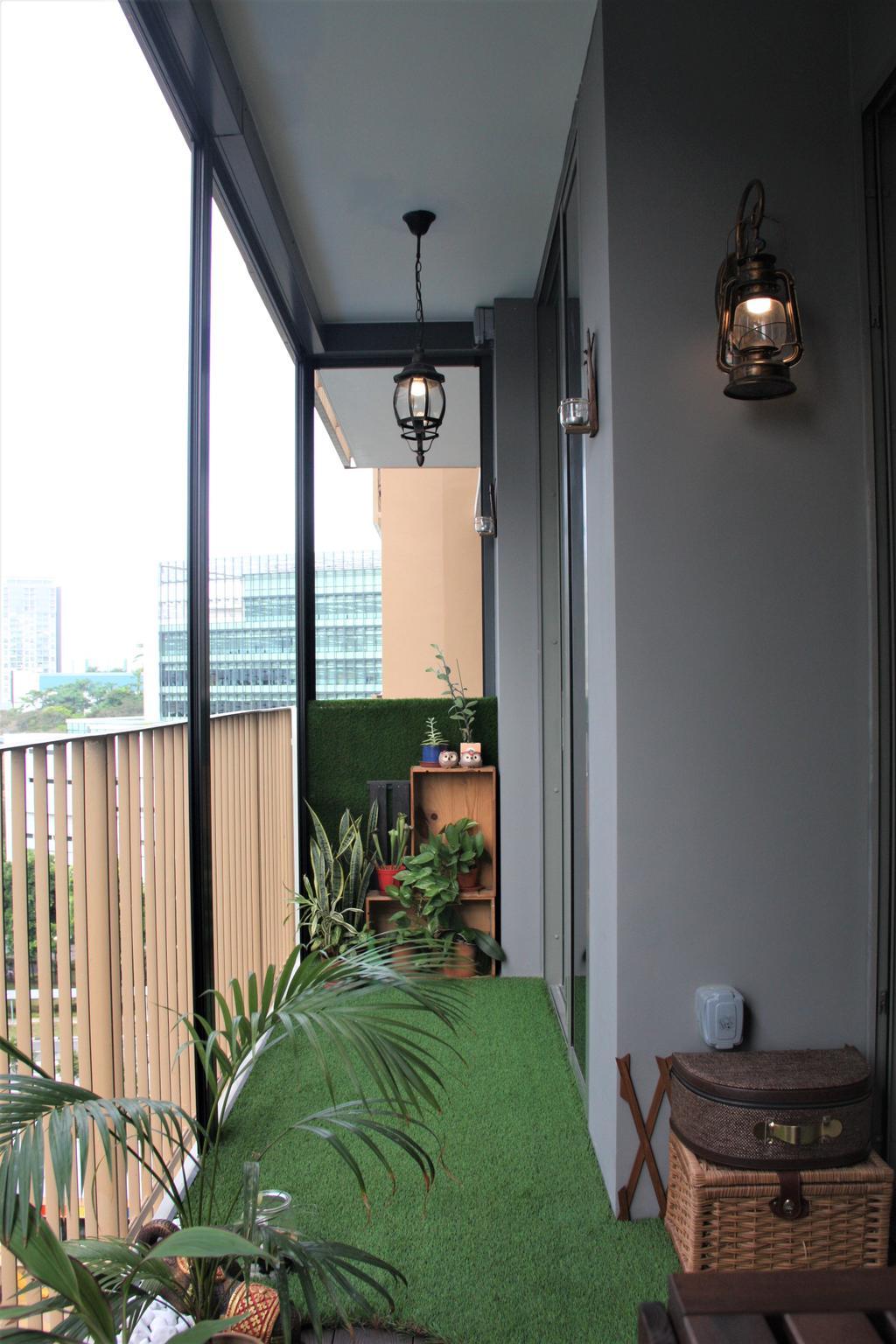 Contemporary, Condo, Balcony, Sol Acres, Interior Designer, Step Dezign