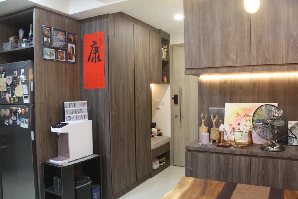 Contemporary, Condo, Living Room, Sol Acres, Interior Designer, Step Dezign