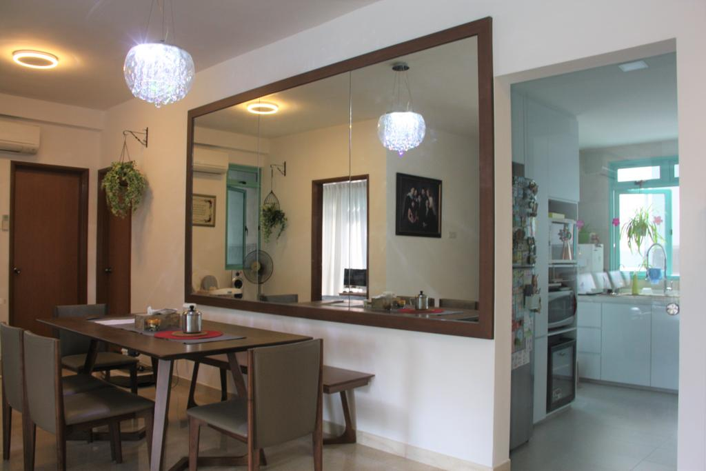 Traditional, Condo, Dining Room, Ballota Park, Interior Designer, Step Dezign