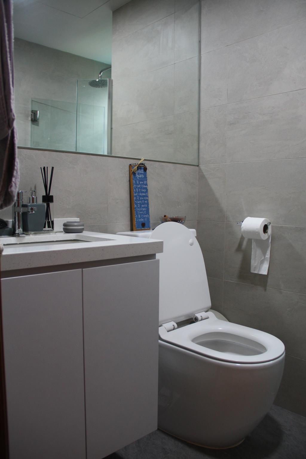 Traditional, Condo, Bathroom, Ballota Park, Interior Designer, Step Dezign