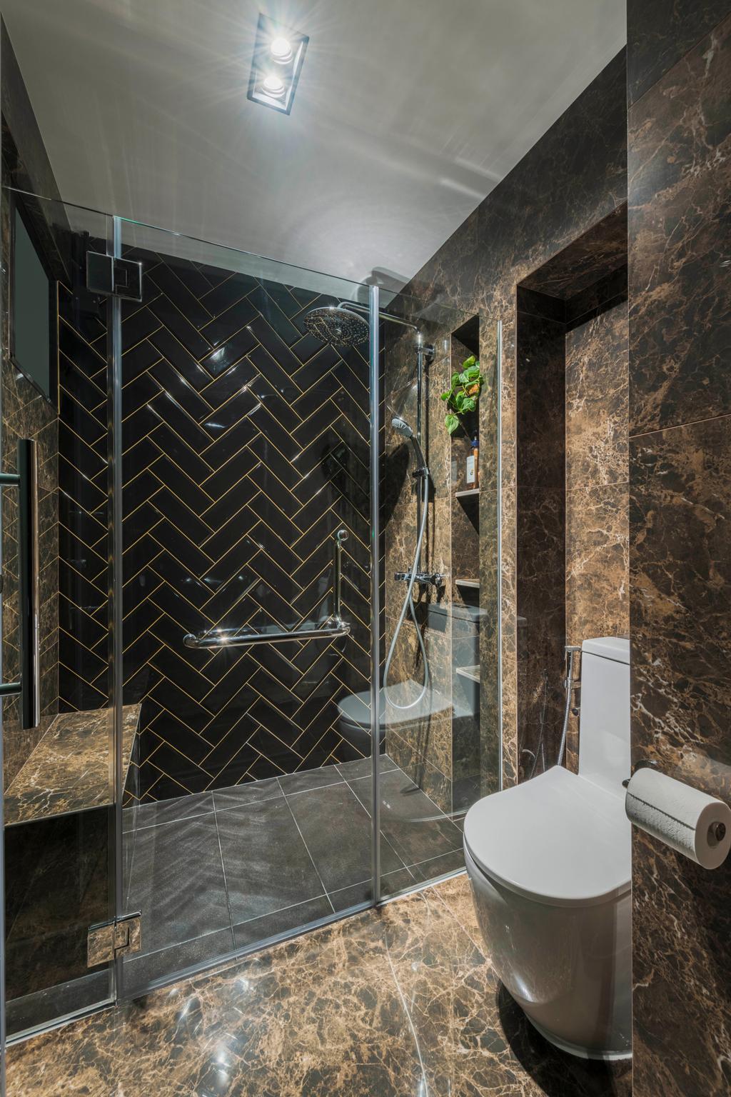 Contemporary, HDB, Bathroom, Clementi Street 14, Interior Designer, Voila