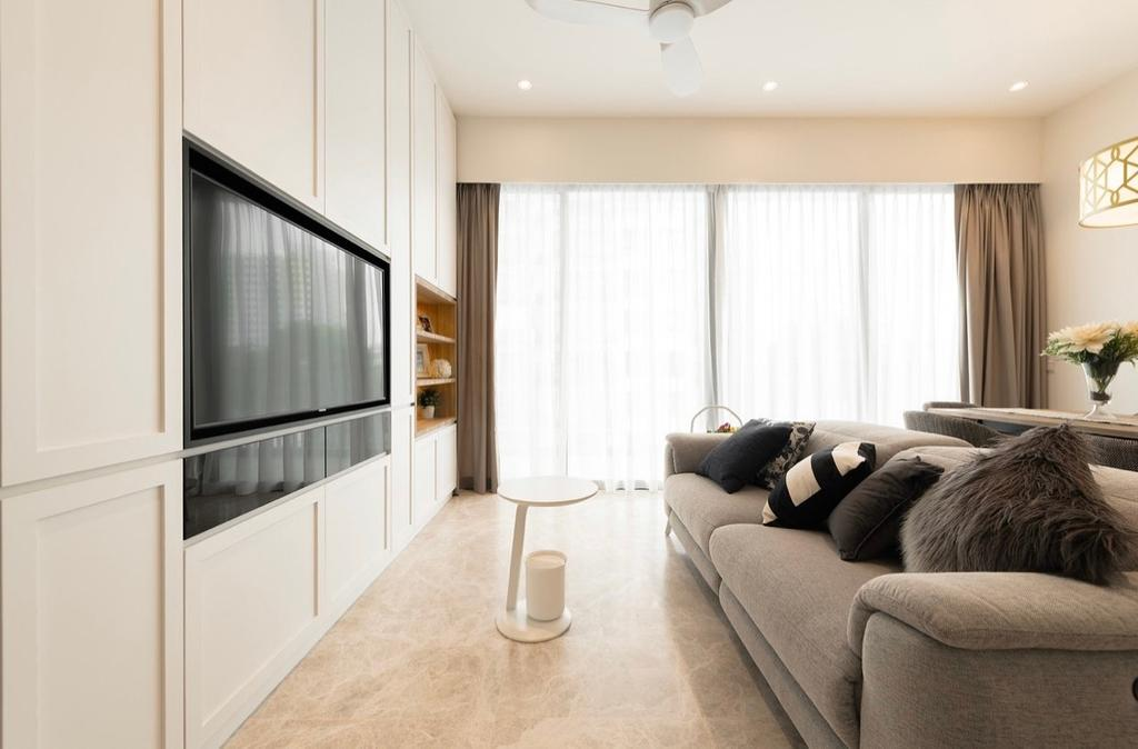 Contemporary, Condo, Living Room, Highline Residences, Interior Designer, The Orange Cube