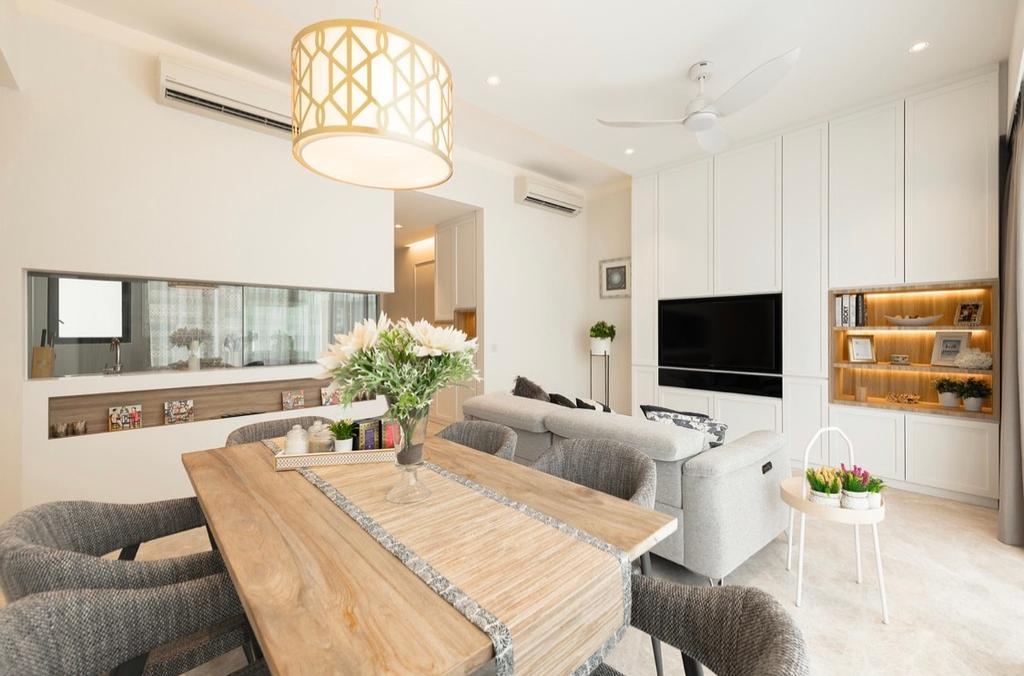 Contemporary, Condo, Dining Room, Highline Residences, Interior Designer, The Orange Cube