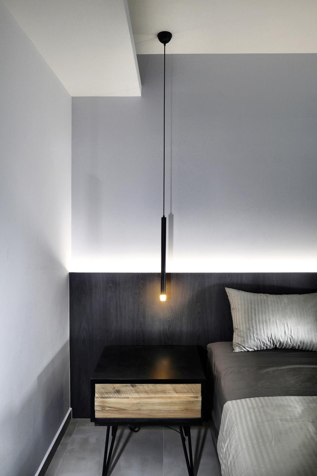 Modern, Condo, Bedroom, Prive Condo, Interior Designer, ISH Interior Design