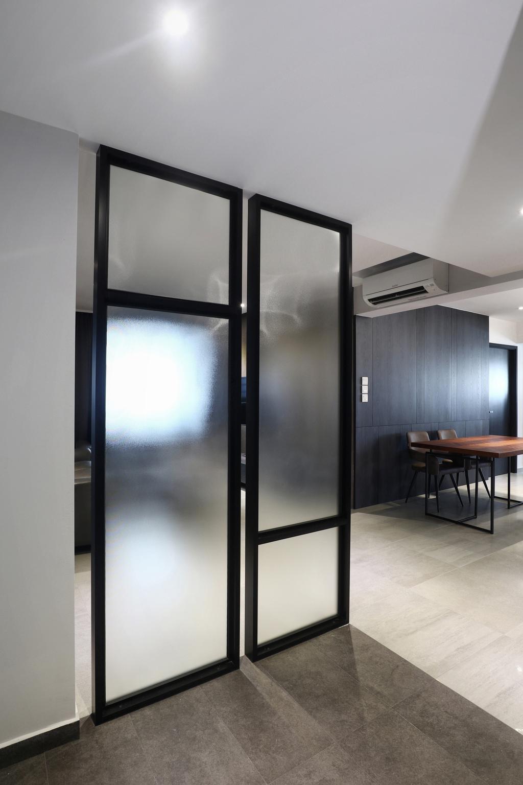 Modern, HDB, Living Room, Marine Drive, Interior Designer, ISH Interior Design