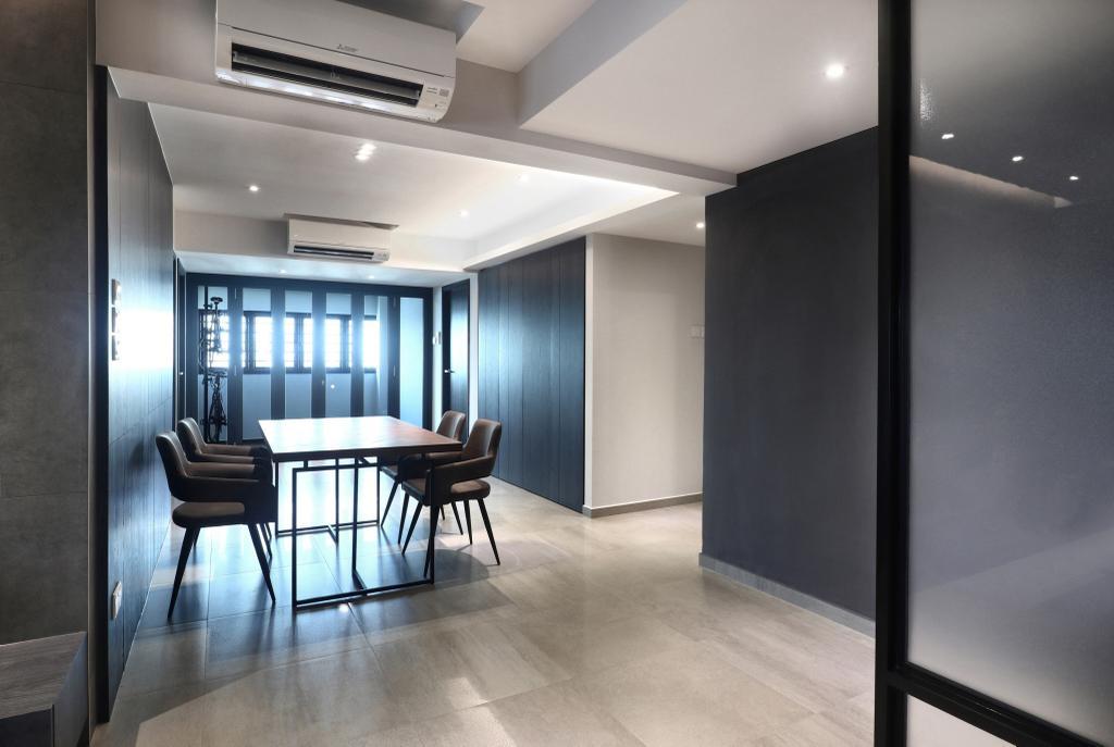 Modern, HDB, Dining Room, Marine Drive, Interior Designer, ISH Interior Design