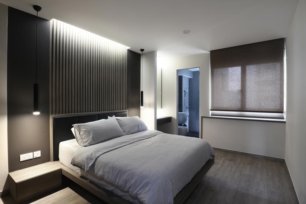 Modern, HDB, Bedroom, Tampines Street 21, Interior Designer, ISH Interior Design
