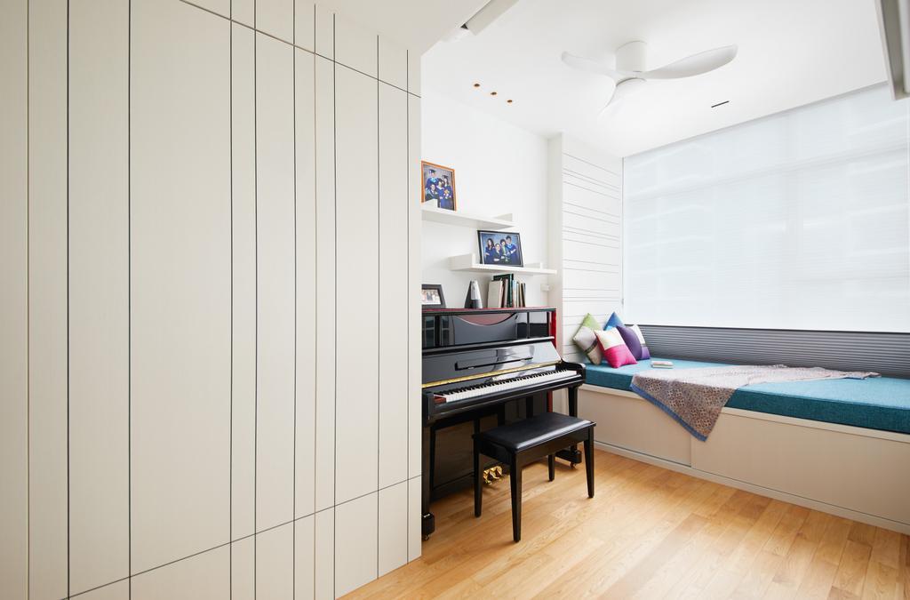 Minimalist, Condo, Farrer Road, Interior Designer, Black N White Haus, Contemporary