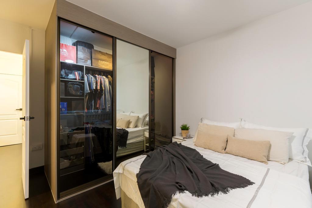 Contemporary, HDB, Bedroom, Pasir Ris Street 11, Interior Designer, Yang's Inspiration Design