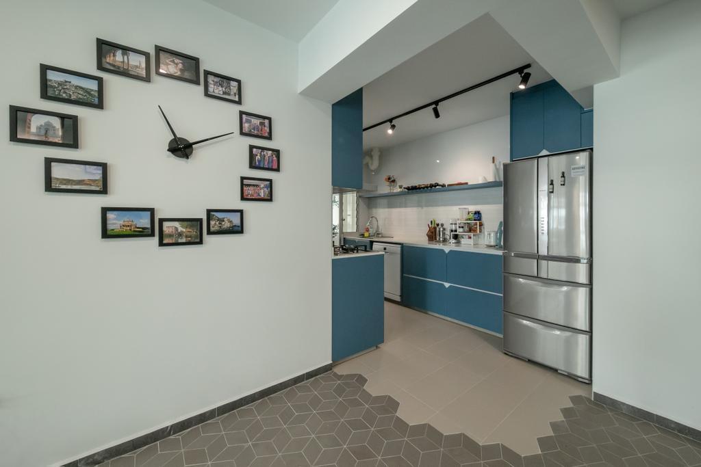 Modern, HDB, Kitchen, Circuit Road, Interior Designer, Space Atelier