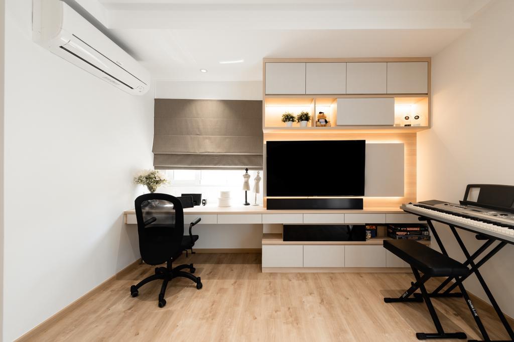 Contemporary, Landed, Study, Countryside Road, Interior Designer, The Orange Cube