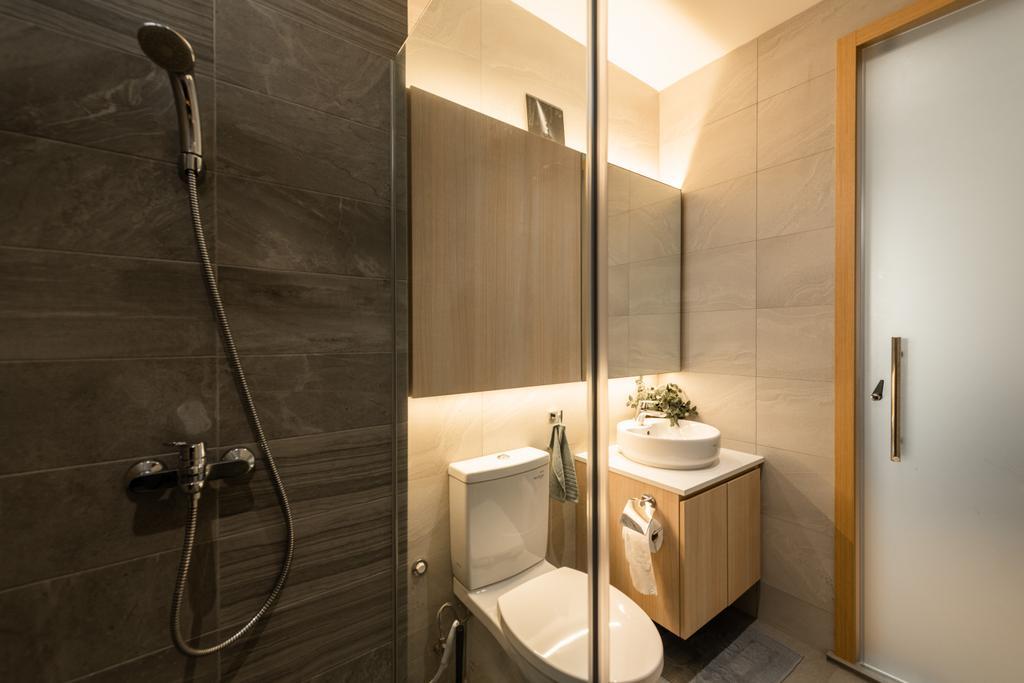 Contemporary, Landed, Bathroom, Countryside Road, Interior Designer, The Orange Cube