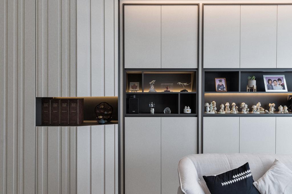 Contemporary, Condo, Living Room, Corals at Keppel Bay, Interior Designer, Stylemyspace