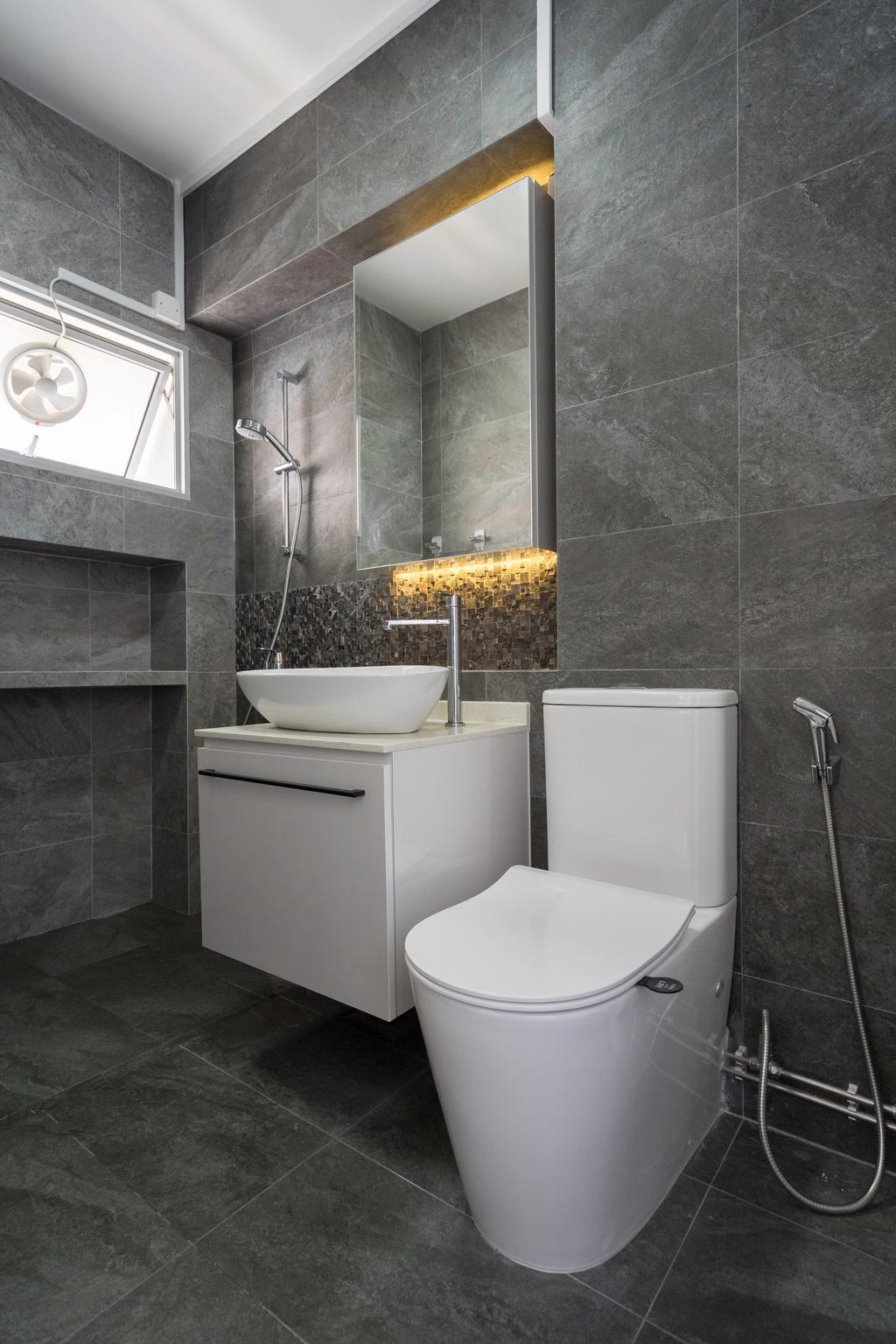 Modern, HDB, Bathroom, Pasir Ris Street 21, Interior Designer, Willis Design