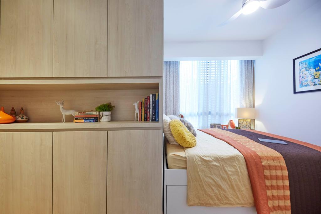 Modern, Condo, Bedroom, One North Residences, Interior Designer, The Interior Lab, Minimalist