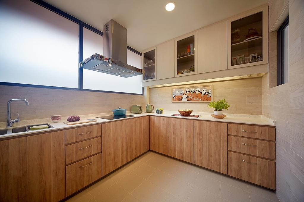 Eclectic, Landed, Kitchen, Jalan Pintau, Interior Designer, D5 Studio Image