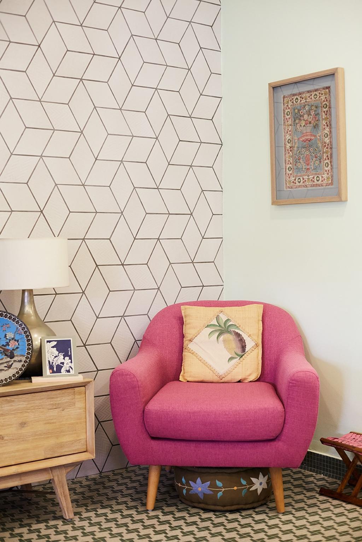 Eclectic, Landed, Living Room, Jalan Pintau, Interior Designer, D5 Studio Image