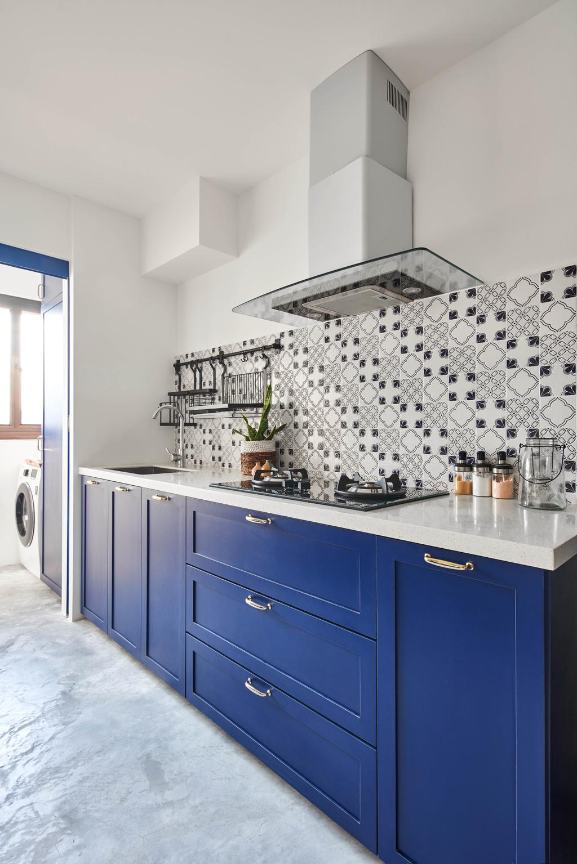 Contemporary, HDB, Kitchen, Buangkok, Interior Designer, Bowerman