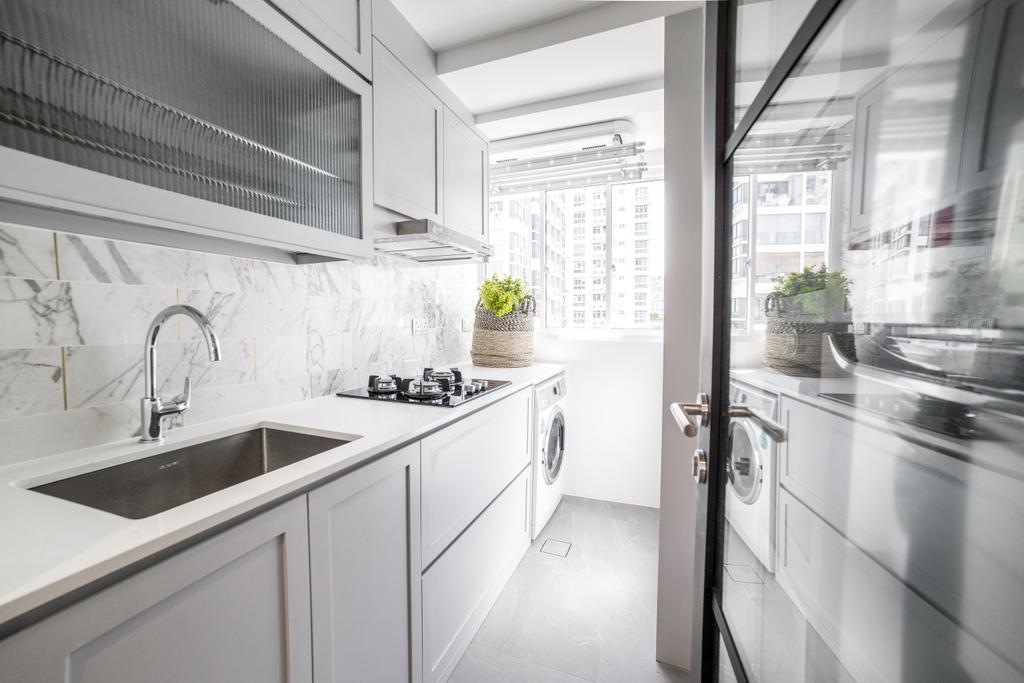 Contemporary, Condo, Kitchen, Imperial Heights, Interior Designer, Archive Design