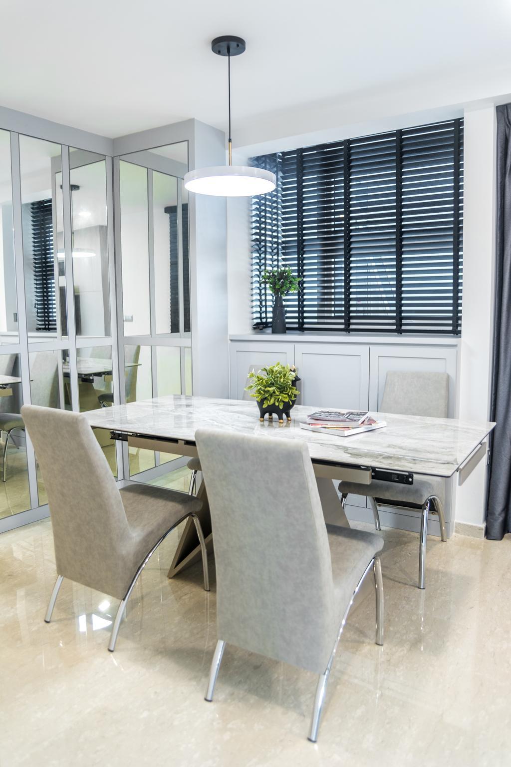 Contemporary, Condo, Dining Room, Imperial Heights, Interior Designer, Archive Design