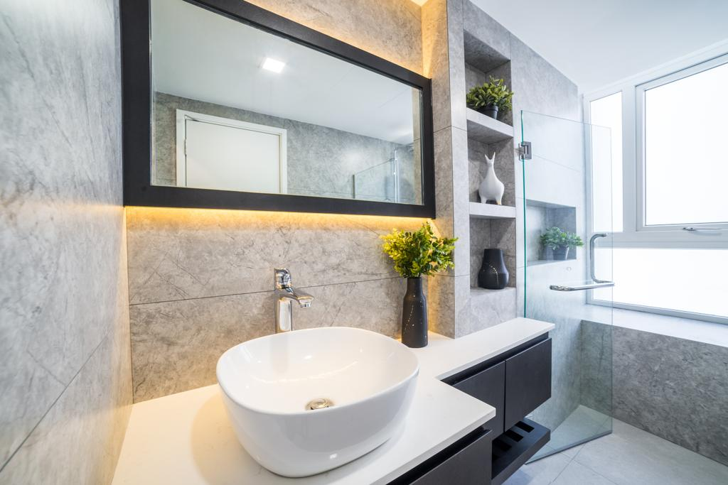 Contemporary, Condo, Bathroom, Imperial Heights, Interior Designer, Archive Design