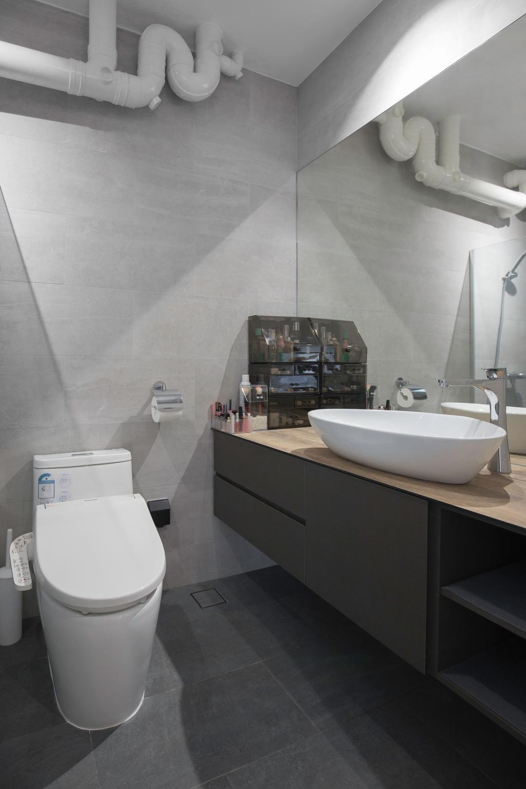 Contemporary, HDB, Bathroom, Senja Road, Interior Designer, Stylemyspace