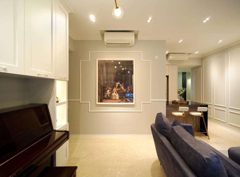 Contemporary, Condo, Clement Canopy, Interior Designer, Urban Habitat Design