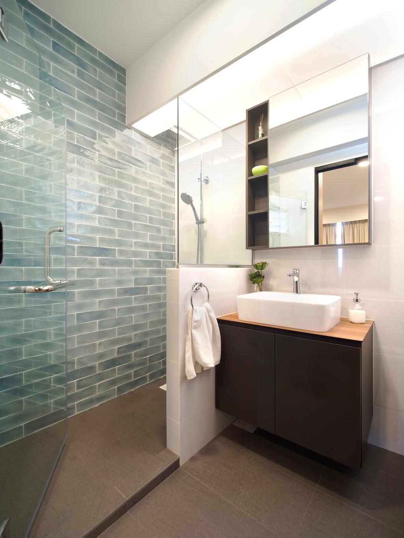 Contemporary, HDB, Bathroom, Sengkang West Way, Interior Designer, Urban Habitat Design