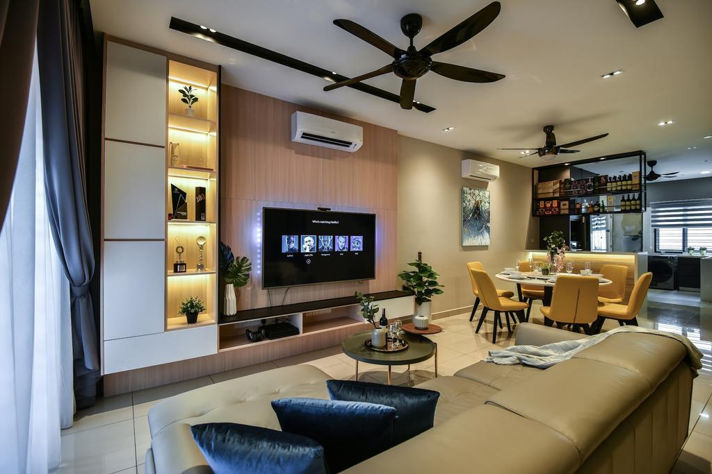 Scandinavian, Landed, Bayu Heights 2, Seri Kembangan, Interior Designer, IQI Concept Interior Design & Renovation