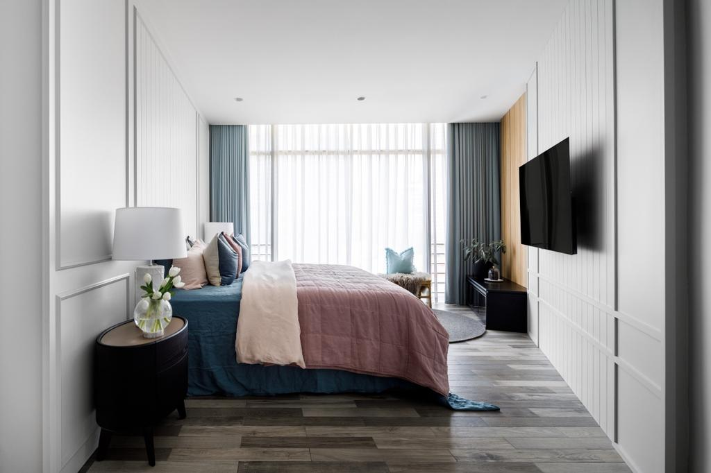 Modern, Condo, Bedroom, The Edge on Cairnhill, Interior Designer, The Scientist, Contemporary, Retro