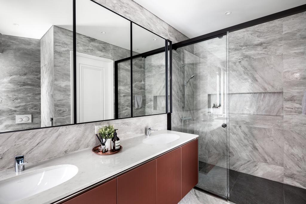 Modern, Condo, Bathroom, The Edge on Cairnhill, Interior Designer, The Scientist, Contemporary, Retro