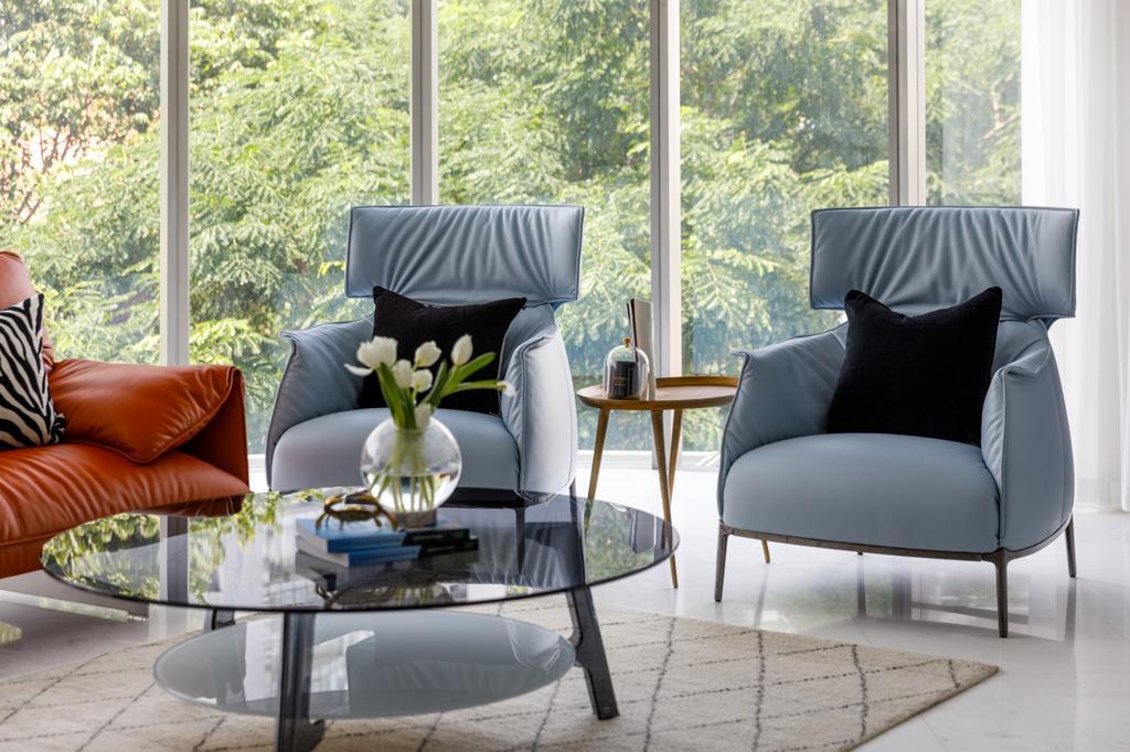 Modern, Condo, Living Room, The Edge on Cairnhill, Interior Designer, The Scientist, Contemporary, Retro