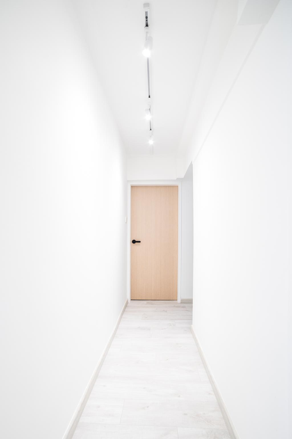 Retro, HDB, Mei Ling Vista, Interior Designer, Archive Design, Modern, Hallway, Corridor