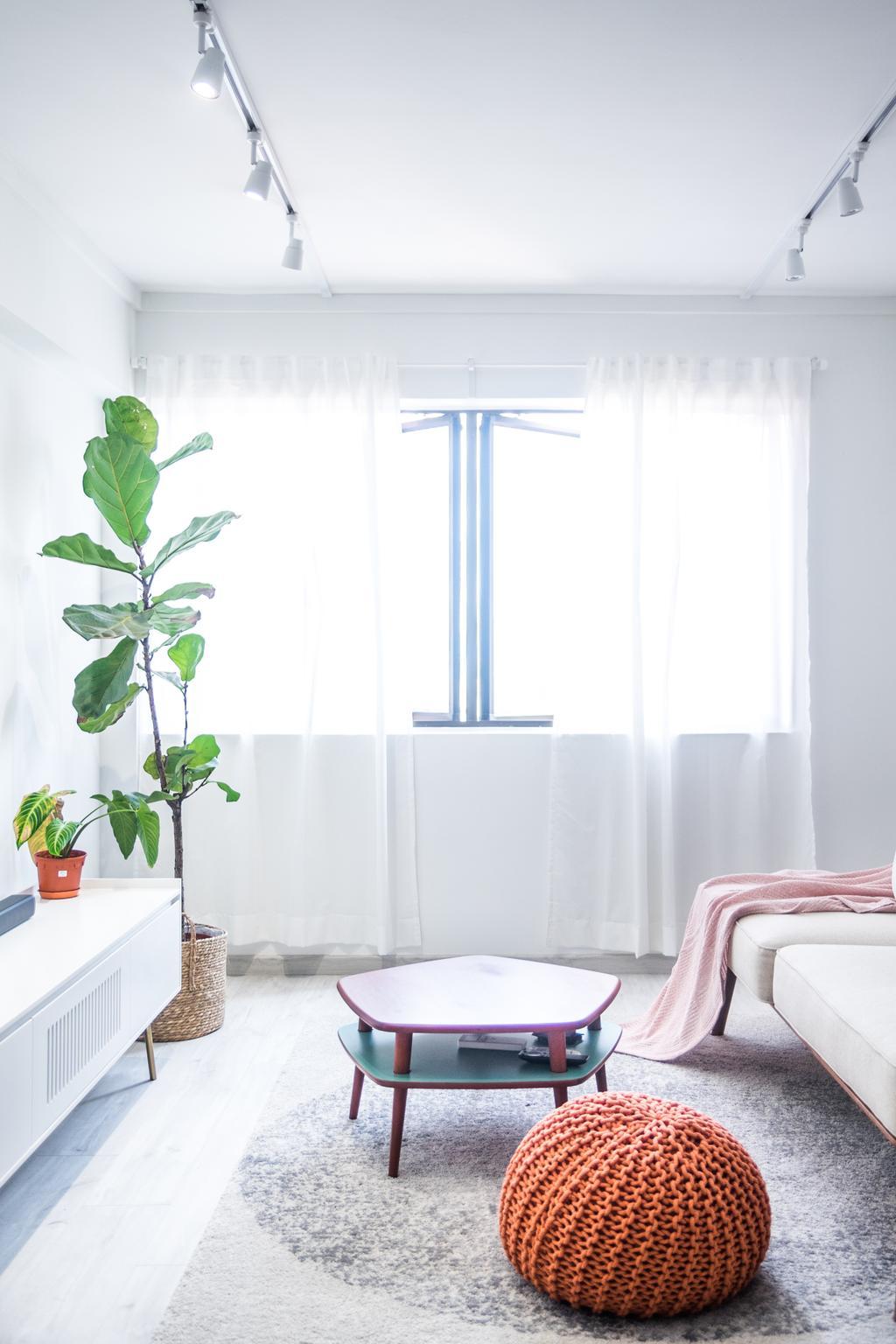 Retro, HDB, Living Room, Mei Ling Vista, Interior Designer, Archive Design, Modern