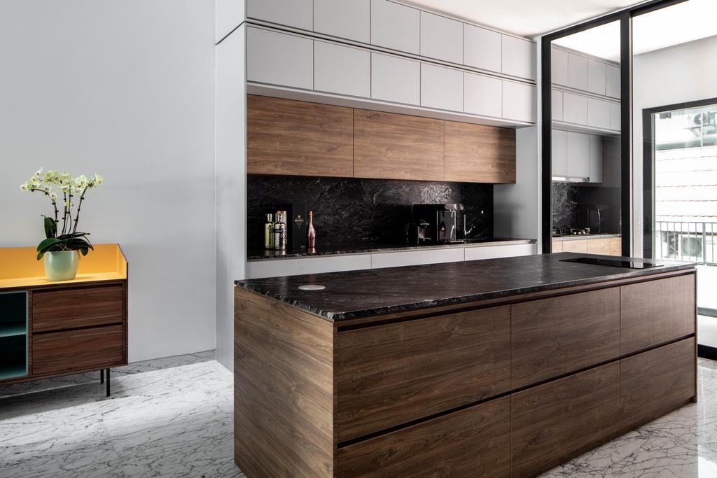 Contemporary, Landed, Kitchen, Simon Walk, Interior Designer, The Scientist